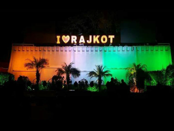 Photos Rajkot Lightning At The Time Pm Modi Rajkot Visit