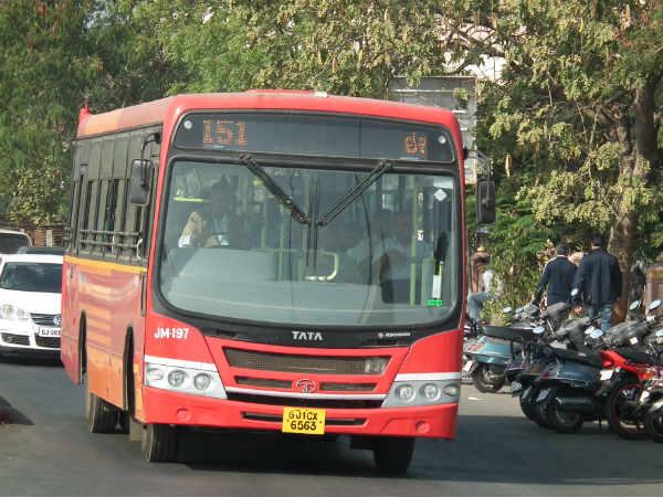 Airport Shuttle 1000 Ahmedabad Municipal Corporation Start