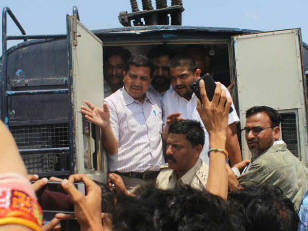 Hardik Patel Arrested Neemuch Mp