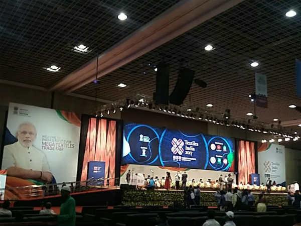 Narendra Modi Inaugurates Mega Trade Event The Textiles Sector
