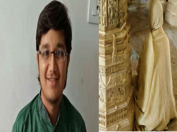 Ahmedabad Class 12 Topper Announced Be Jain Monk