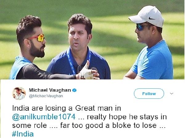 Cricket Legends Call Unfortunate Anil Kumble Steps Down As Team India Coach
