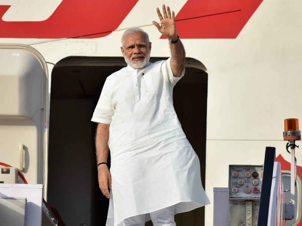Pm Narendra Modi Has Left His Three Nation Tour