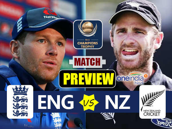 Preview Champions Trophy 2017 Match 6 New Zealand Vs England On June