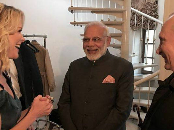 Video Are You On Twitter Nbc Journalist Megyn Kelly Asks Pm Modi