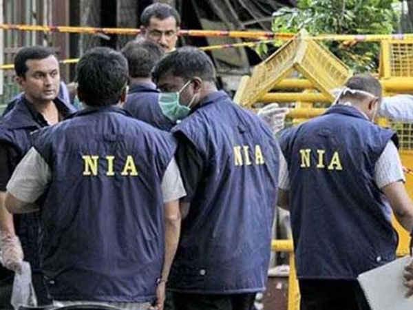 Nia Raids 14 Locations Kashmir 8 Delhi Terror Funding Case
