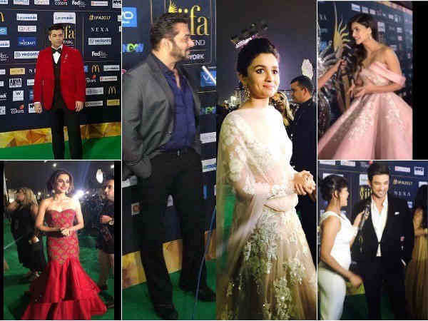 Iifa 2017 Photos Bollywood Stars Dazzles On Green Carpet