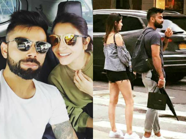 Virat Kohli Holidays With Anushka Sharma New York Here Are Pictures