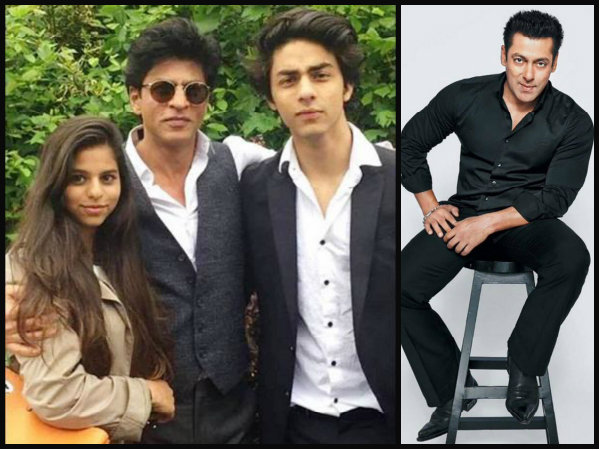 Salman Khan Gives An Unexpected Gift To Srk His Children Ary
