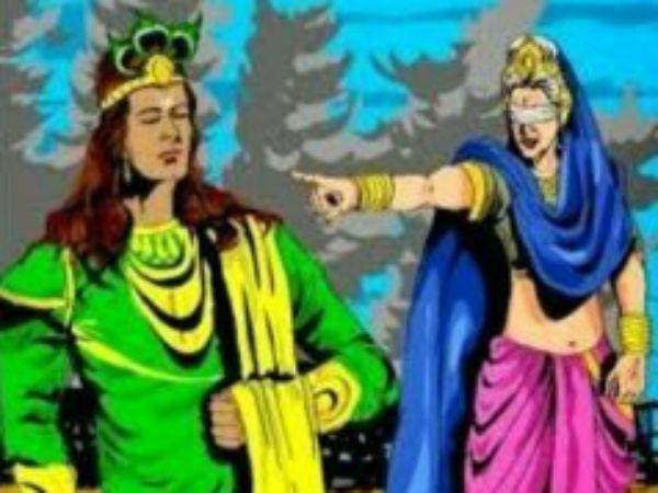 માતા ગાંધારીના શ્રાપથી થયુ હતુ ભગવાન શ્રી કૃષ્ણનું મૃત્યુ