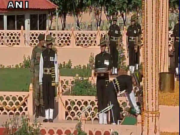 Kargil Vijay Divas Wreath Laying Ceremony At Dras War Memori
