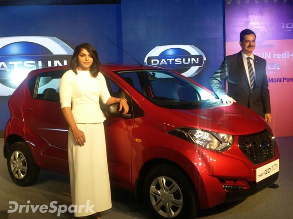 Launched Datsun Redi Go Car India Market