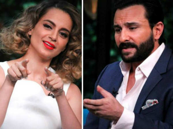 Kangana Ranaut Reacts To Saif Ali Khan S Open Letter