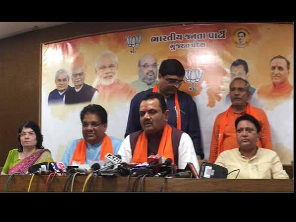 Huge Setback To Congress In Gujarat Three Legislators Resigned