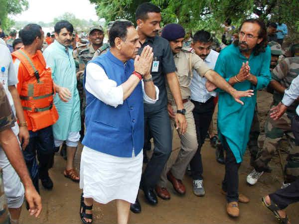 Cm Vijay Rupani On 5 Days Visit Banaskantha