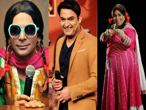 Sunil Grover Ali Asgar Bharti Are Upset With Kiku Sharda