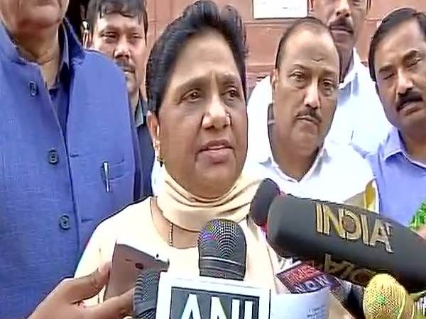 Bsp Chief Mayawati Resigns From Rajya Sabha