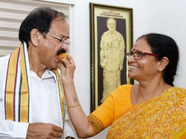 Venkaiah Naidu Became The New Vice President India