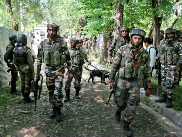 Terrorists Killed Tral South Kashmir An Encounter