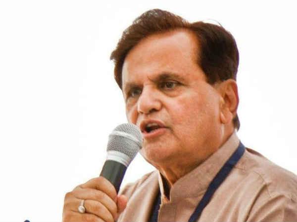 Congress Leader Ahmed Patel Retains Rajya Sabha Seat From Gujarat