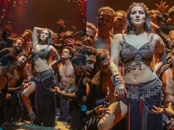 Sunny Leone Received Grand Welcome Her Fans Kochi
