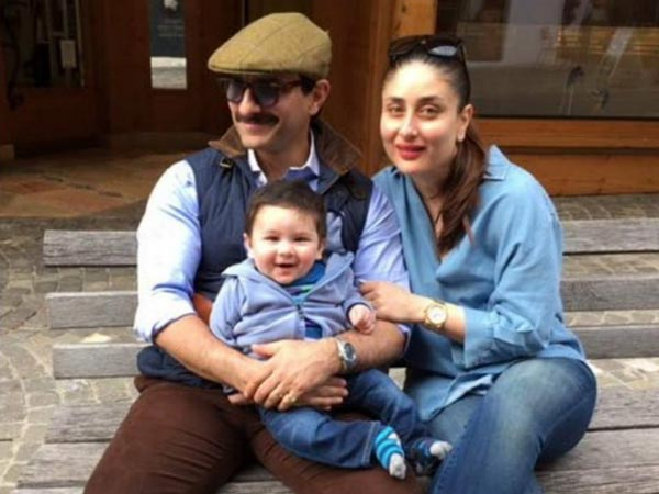 Saif Ali Khan Kareena Kapoor Taimur Switzerland Holiday Pictures