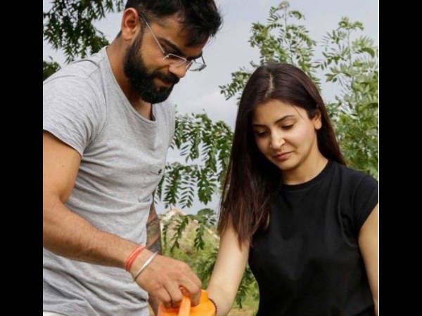 Virat Kohli Anushka Sharma Spent Quality Time Sri Lanka Plant Trees
