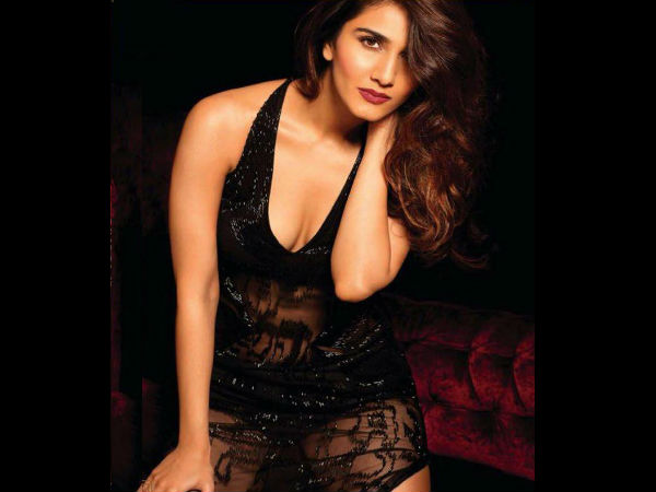 Vaani Kapoor Strips Basics Designer Campaign