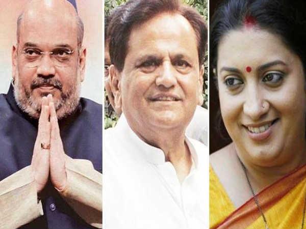Gujaratrspolls Congress Leader Ahmed Patel Amit Shah Smrit Win