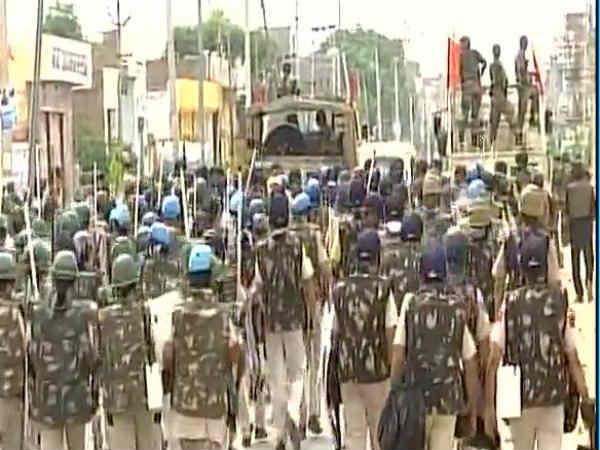 Army Entered The Premises Derasachasauda Hq Haryana Sirsa