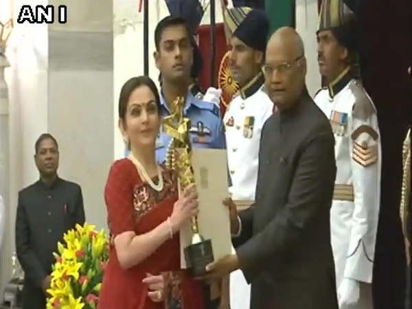 President Ram Nath Kovind Conferred Rashtriya Khel Protsahan