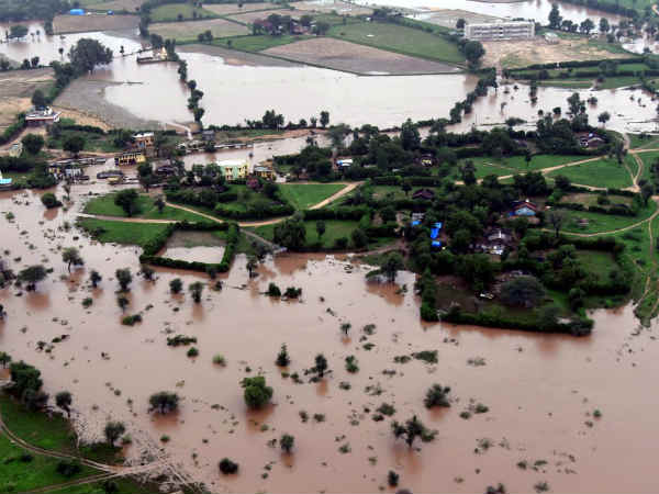 Very Heavy Rainfall Predicted Gujarat More Flood Likely