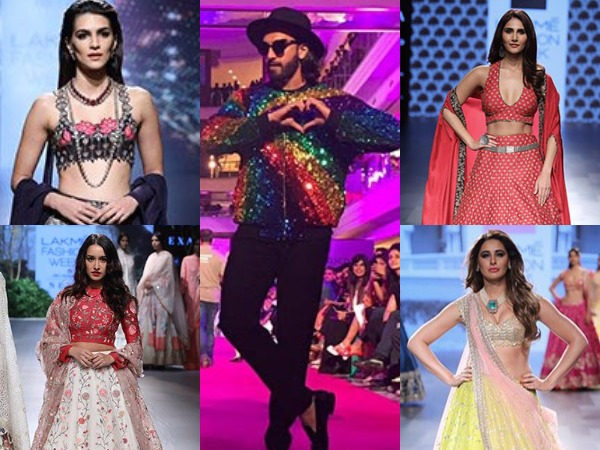 Bollywood Actresses Lakme Fashion Week