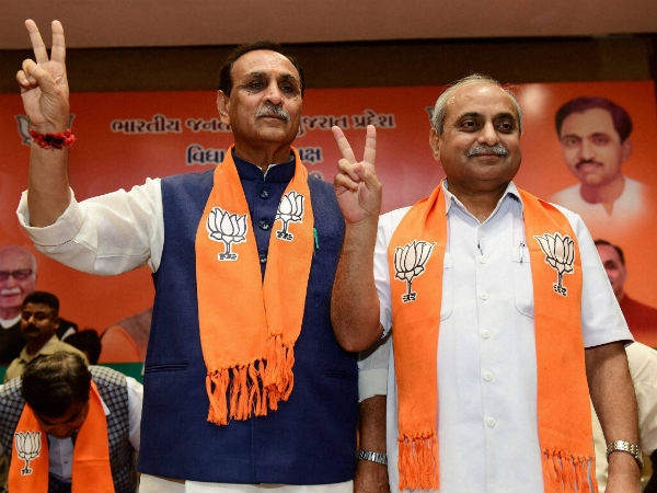 Gujarat Assembly Election Nitin Patel Vijay Rupani Election Seat