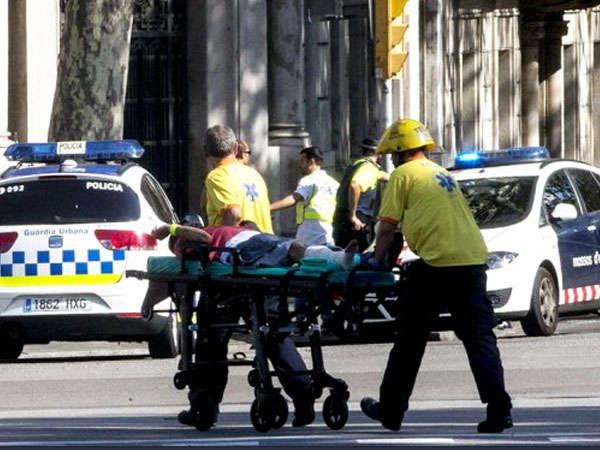 બાર્સિલોનામાં ISISએ કર્યો આતંકી હુમલો,13ની મોત,100 ઇજાગ્રસ્ત