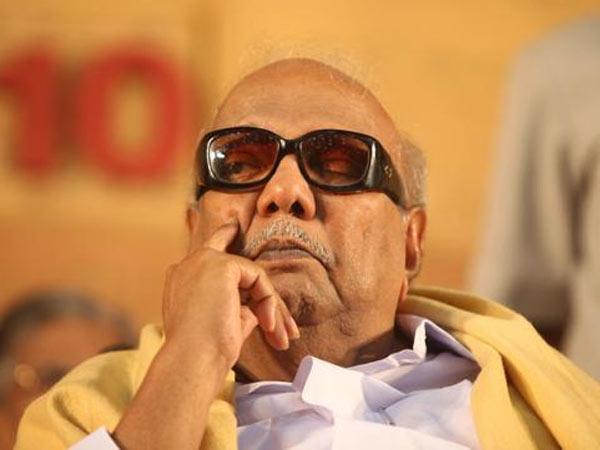 DMKના અધ્યક્ષ કરુણાનિધિની તબિયત બગડી, હોસ્પિટલમાં દાખલ