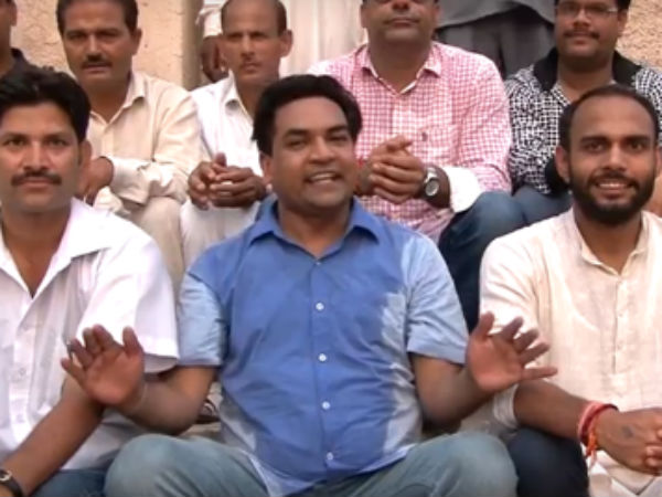 Video Kapil Mishra Trolls Arvind Kejriwal With Special Birthday Song