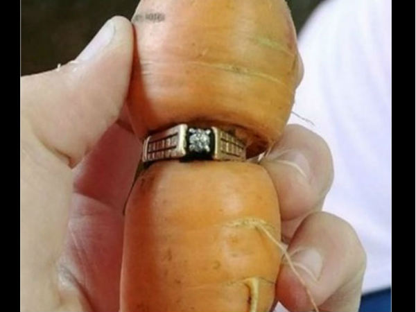 Bizarre Story Lost Found Carrot Diamond Ring