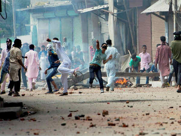 This Is What A Stone Pelter Earns In The Jammu Kashmir