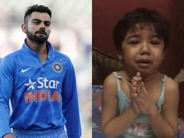 Virat Kohli Shikhar Dhawan Share Video Of A Child Emotional Message To Parents