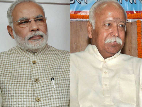 Rss Alerted Bjp Credible Signs Shift The Public Mood Over Performance Of The Modi Government