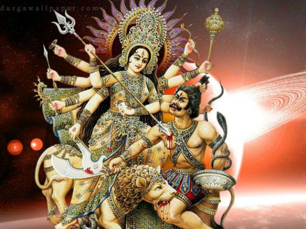 Navratri Maa Durga Mahisasur Sanhar Story Gujarati