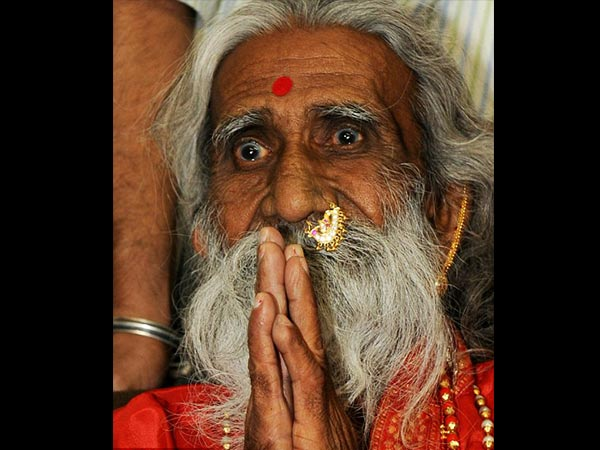 This 82 Year Old Man Called Mataji Claims To Have Had No Food Or Drink For 77 Years