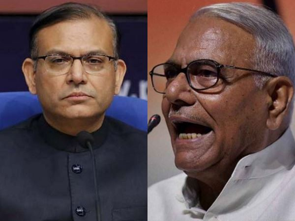 Union Minister Jayant Sinha Wrote Article In Reply Of His Father Yashwant Sinha And Defend Modi Govt