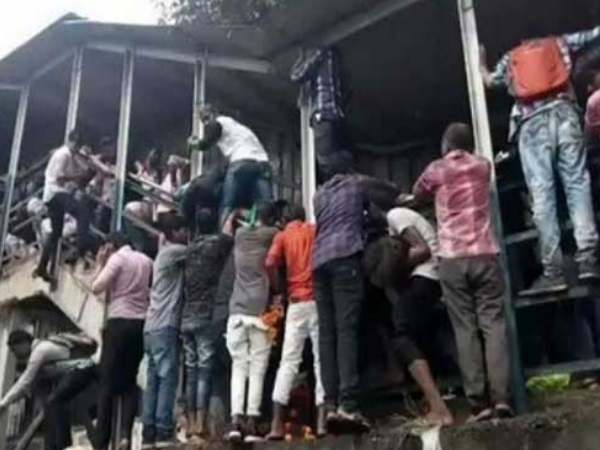 Photos Mumbai Elphinstone Road Station Stampede 22 Dead