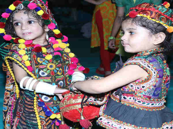 Navratri 2017 Special Kids Dandiya Video Rajpipla