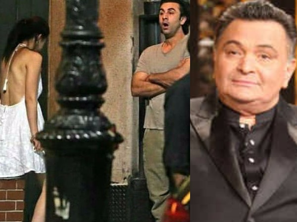 Rishi Kapoor Reacts To Ranbir Kapoor Mahira Khan S Viral Pictures