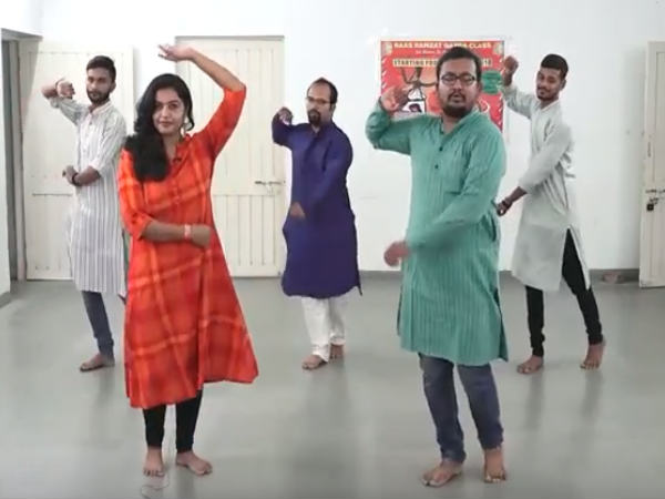 Navratri Garba Tutorial Learn Kutchi Garba