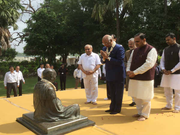 President Ram Nath Kovind Visits Sabarmati Aashram