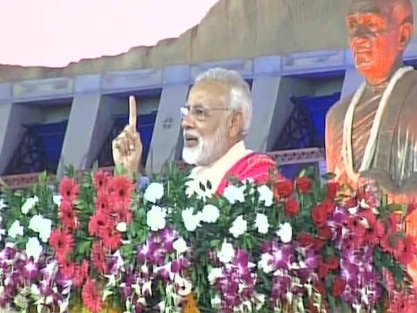નર્મદાના પાણીથી લખાશે દેશનો સ્વર્ણિમ ઇતિહાસ: PM